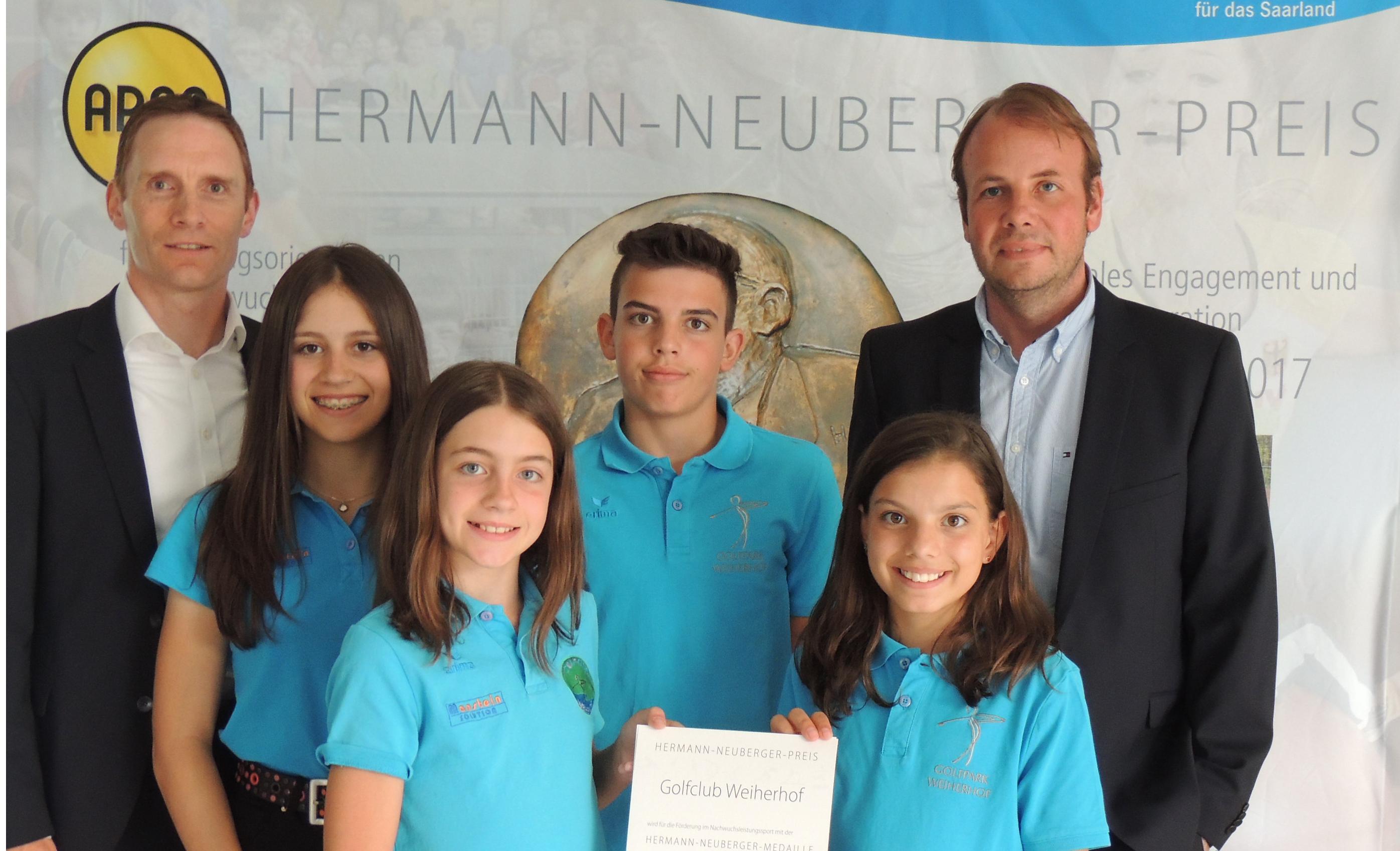 Hermann-Neuberger-Preis 2017 verliehen